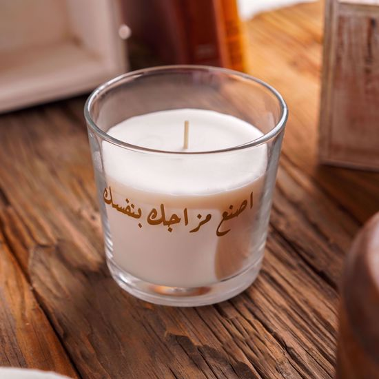 Picture of Scented Candle - White