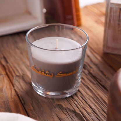 Picture of Scented Candle - Gray